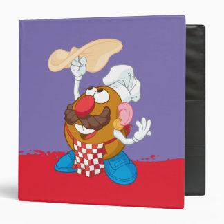 Mr. Potato Head Tossing Pizza 3 Ring Binder