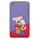 Mr. Potato Head Tossing Pizza Barely There iPod Cover