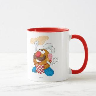 Mr. Potato Head Tossing Pizza Mug