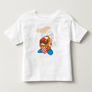 Mr. Potato Head Tossing Pizza Toddler T-shirt