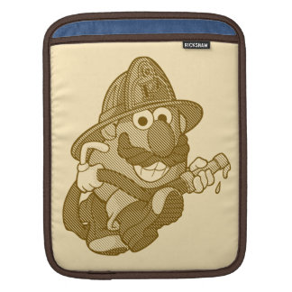 Mr. Potato Head with Fire Hose Sleeves For iPads