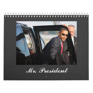 Mr. President 2009 Calendar