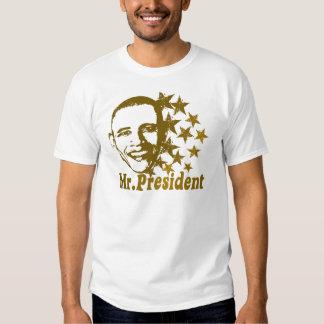 Mr. President Barack Obama Politics T-shirt