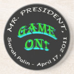 Mr. President, Game On Drink Coasters