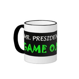Mr. President, GAME ON! - Newt Gingrich 2012 Coffee Mugs