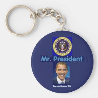 MR. PRESIDENT Keychain