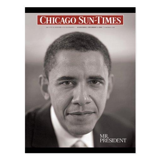 Mr. President Obama Postcard