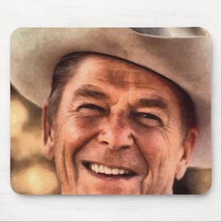 Mr. President Ronald Reagan Mouse Pad