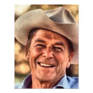 Mr President Ronald Reagan Art Photo