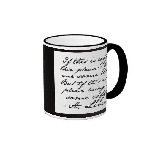 Mr Coffee Microwave Coffee Maker : Mr. President Wants Coffee (or Tea) Coffee Mug Zazzle