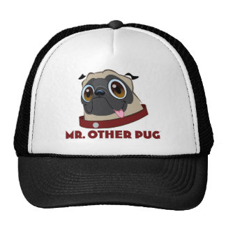 MR PUG CLOTHES TRUCKER HAT