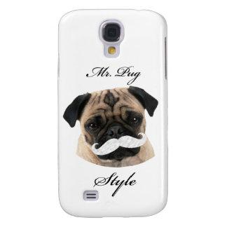 Mr. Pug Collection Funda Para Galaxy S4