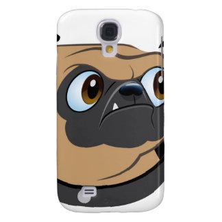 Mr. Pug iPhone Case Galaxy S4 Cases