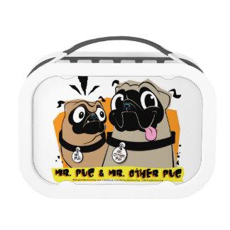 Mr. Pug & Mr. Other Pug Lunchbox
