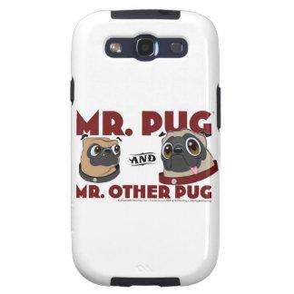 Mr. Pug Samsung Galaxie Case Galaxy S3 Case