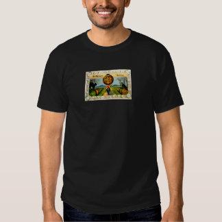 Mr. Pumpkin(Vintage Halloween Card) T Shirt