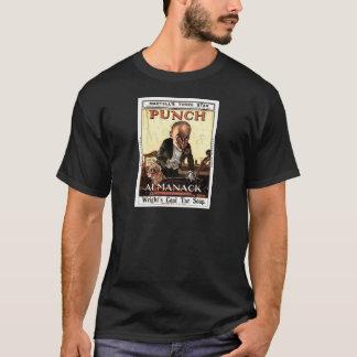 MR PUNCH VINTAGE ALMANACK 1908 PRINT DESIGN T-Shirt
