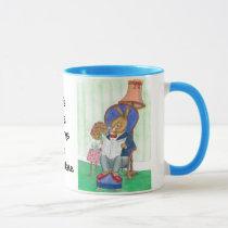 Mr Rabbit Coffee Mug to Personalise