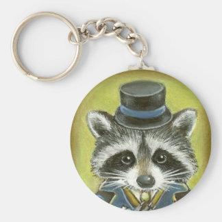Mr Raccoon Keychain