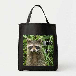 Mr Raccoon Tote Bag