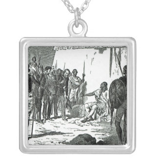 Mr.Rassam's interview with King Theodore Silver Plated Necklace