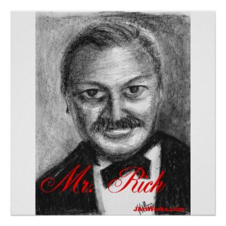 Mr. Rich print