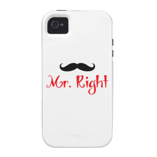 MR RIGHT iPhone 4 CASE
