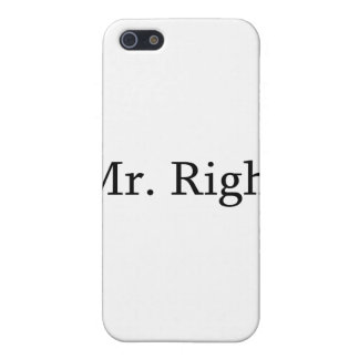 Mr. Right Cover For iPhone SE/5/5s