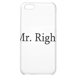 Mr. Right Cover For iPhone 5C