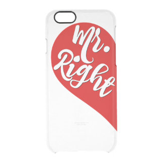 Mr. Right iPhone Case