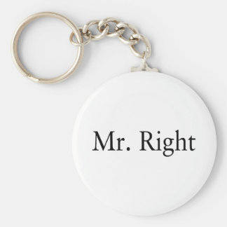 Mr. Right Keychain