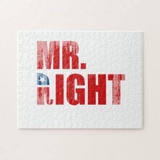 MR RIGHT JIGSAW PUZZLES