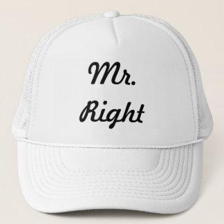 Mr. Right Trucker Hat