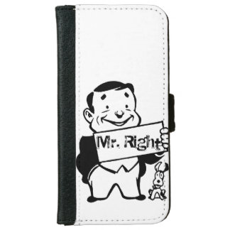 Mr.right Wallet Phone Case For iPhone 6/6s