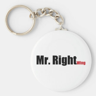 Mr. Right Wing Keychain