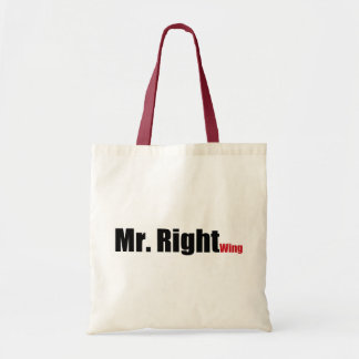 Mr. Right Wing Tote Bag