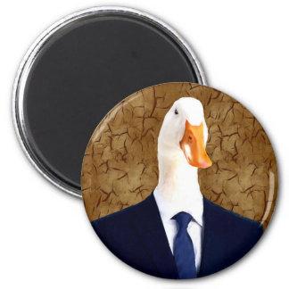 Mr. Robertson - Goose: 2 Inch Round Magnet