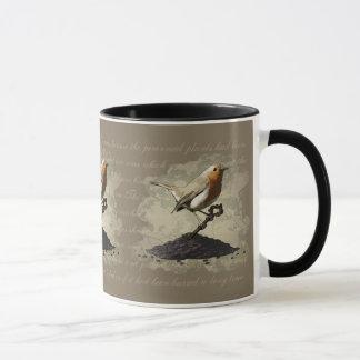 Mr. Robin Finds the Key, mug