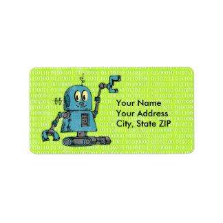 Mr. Robot Personalized Label