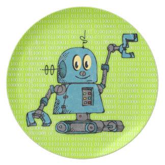 Mr. Robot Plate