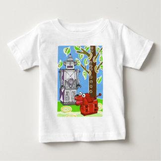 Mr Robot walks his robot dog Baby T-Shirt
