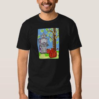 Mr Robot walks his robot dog Tshirts