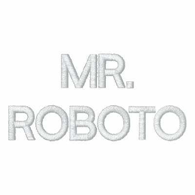 MR. ROBOTO embroidered hoodie