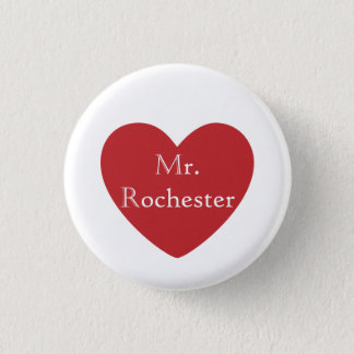 Mr. Rochester Pinback Button