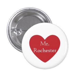 Mr. Rochester Pinback Button