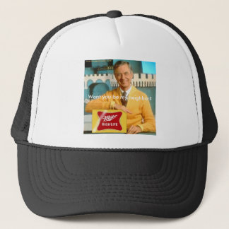 mr rogers drunk, Wont you be my neighbor? Trucker Hat