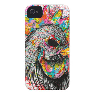 Mr. Rooster Case-Mate iPhone 4 Cases