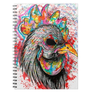 Mr. Rooster Notebook