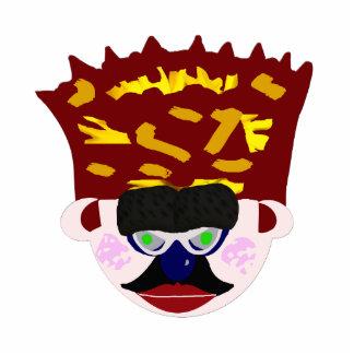 Mr. Rudy Man's Crown Face Cutout