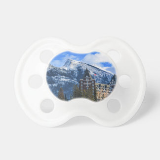 Mr Rundle and Hotel, Banff, Alta, Canada Pacifier